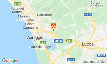 Mappa Viareggio Agriturismo 98512