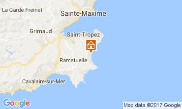 Mappa Ramatuelle Casa mobile 107754