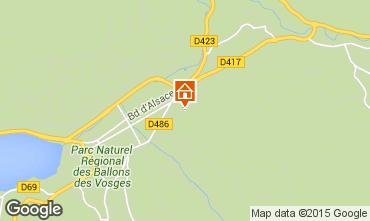 Mappa Gérardmer Appartamento 72177