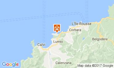 Mappa Lumio Appartamento 107706