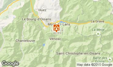 Mappa Les 2 Alpes Appartamento 1290