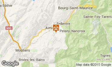 Mappa Les Arcs Agriturismo 100022