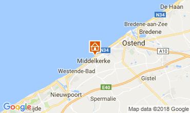 Mappa Middelkerke Appartamento 115900