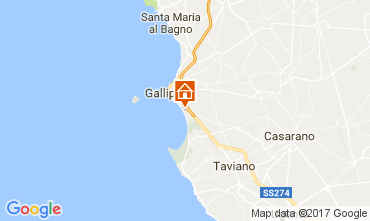Mappa Gallipoli Casa 112727