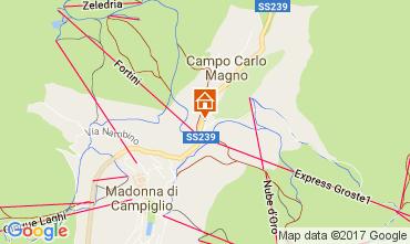 Mappa Madonna di Campiglio Appartamento 28711