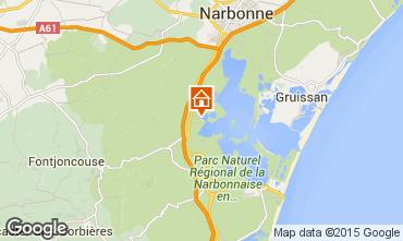 Mappa Peyriac-de-Mer Appartamento 78748