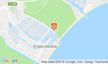 Mappa Empuriabrava Appartamento 82724
