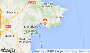Mappa Rosas Appartamento 32399