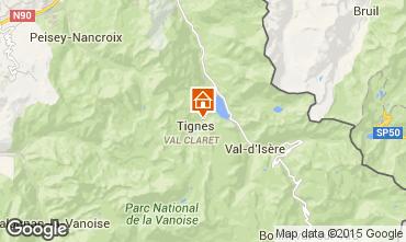 Mappa Tignes Appartamento 60012