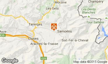 Mappa Morillon Grand Massif Chalet 66506