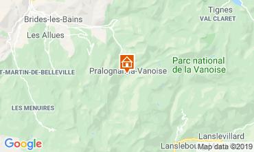 Mappa Pralognan la Vanoise Chalet 2283