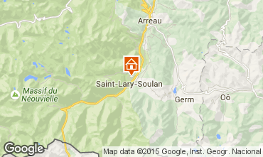 Mappa Saint Lary Soulan Appartamento 87371