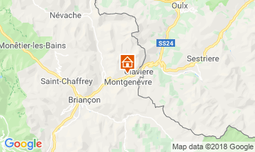 Mappa Monginevro Appartamento 100869