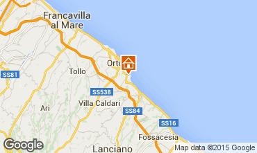 Mappa Ortona Casa 71938
