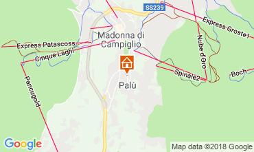 Mappa Madonna di Campiglio Appartamento 52141