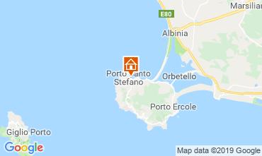 Mappa Monte Argentario Appartamento 86235