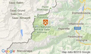 Mappa  Chalet 77037