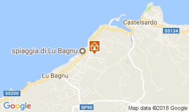 Mappa Castelsardo Appartamento 83489