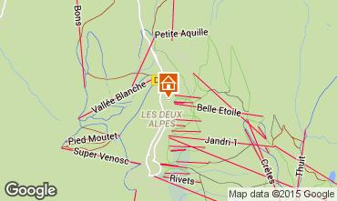 Mappa Les 2 Alpes Appartamento 40123