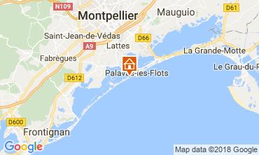 Mappa Palavas-les-Flots Monolocale 6111