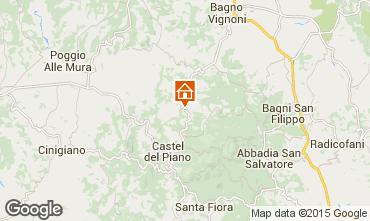 Mappa Montalcino Appartamento 74222