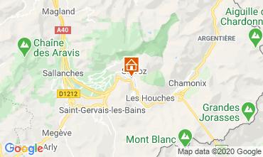 Mappa Chamonix Mont-Blanc (Monte Bianco) Monolocale 90652