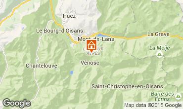 Mappa Les 2 Alpes Monolocale 50248