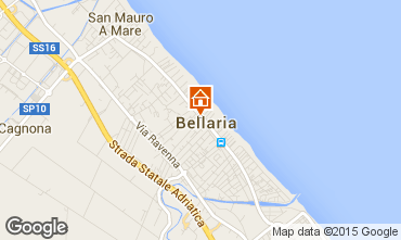 Mappa Bellaria Igea Marina Appartamento 69763