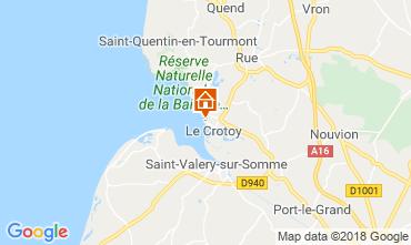 Mappa Le Crotoy Appartamento 117275