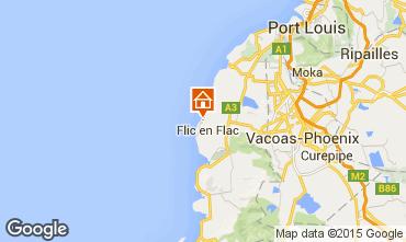 Mappa Flic-en-Flac Bungalow 50771