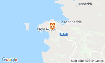 Mappa Isola Rossa Appartamento 119104
