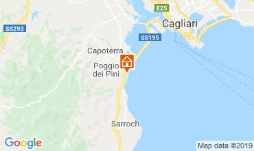 Mappa Capoterra Appartamento 119151