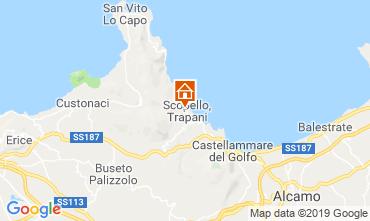 Mappa Scopello Appartamento 111022