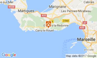 Mappa Carry le Rouet Villa  112762