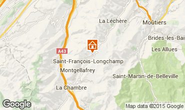 Mappa Saint François Longchamp Chalet 77938