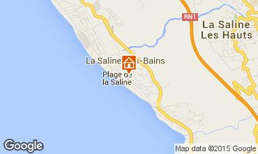 Mappa La Saline les Bains Bungalow 50449