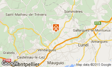Mappa Montpellier Villa  80910