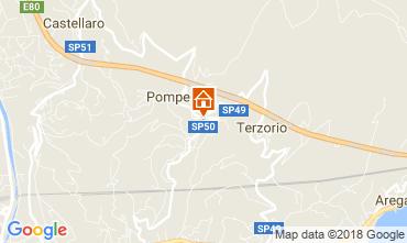 Mappa Santo Stefano al Mare Appartamento 83514