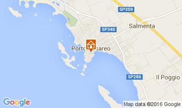 Mappa Porto Cesareo Monolocale 104756