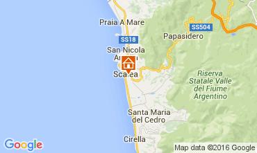 Mappa Scalea Appartamento 23034