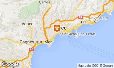 Mappa Nizza Appartamento 91226