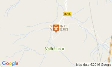 Mappa Valfréjus Monolocale 107072