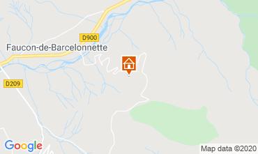Mappa Barcelonnette Chalet 2797
