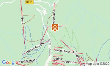 Mappa Les 2 Alpes Chalet 33878