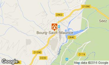 Mappa Bourg saint Maurice Appartamento 98749