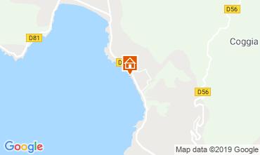 Mappa Sagone Appartamento 118488
