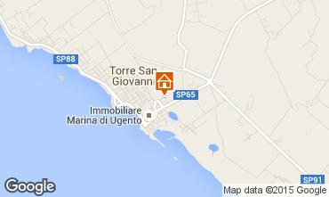 Mappa Ugento - Torre San Giovanni Appartamento 94615