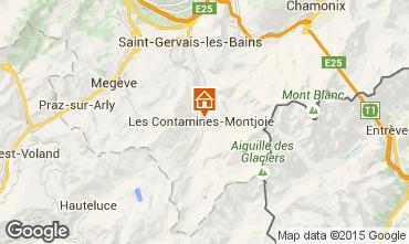 Mappa Les Contamines Montjoie Chalet 27332