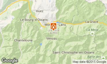 Mappa Les 2 Alpes Monolocale 1201