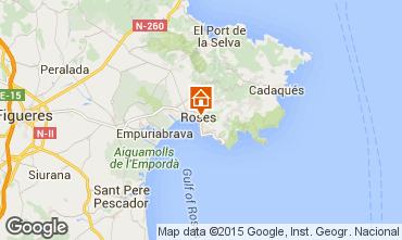 Mappa Rosas Appartamento 86249